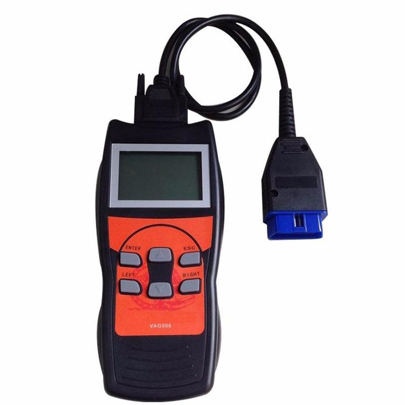 Aggiornamento VAG506 Coder Lettore di Diagnostica-strumento di Vag Scanner di Alimentazione Olio di Reset Airbag Reset Correzione di distanza in Miglia