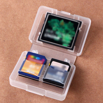 Memory Card Cases CF SD card Cases Universal Memory Box Pack SD MMC/SDHC PRO DUO Memory Card Plastic Storage Jewel Case цена 2017