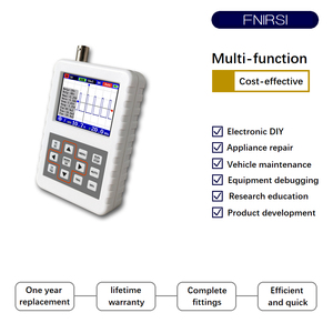 Image 3 - DSO FNIRSI PRO el mini taşınabilir dijital osiloskop 5M bant genişliği 20MSps örnekleme hızı ile P6020 BNC standart prob