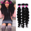 8A Rosa Hair Product Brazilian Loose Wave Virgin Hair 3/4 Bundle Brazilian Virgin Hair Loose Wave Gorgeous Lady Thick Hair