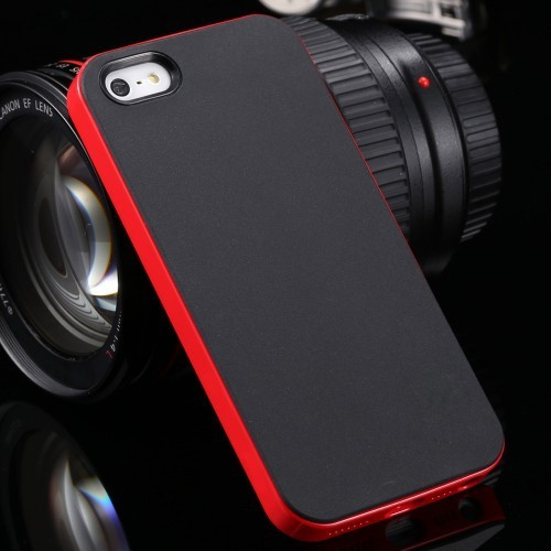 With Logo Cool Hybrid Case For iPhone 5 5S SE 5G Hard Back Cover Dual Color Ultra Slim Phone Case For Apple iPhone 5S 5 SE Shell