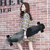 Fashion Skateboards Long skate Adult Boys Girls Dance Board Four Wheel Skate boards