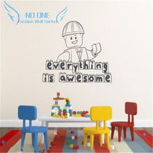 Buy Kids Wall Stencil And Get Free Shipping On AliExpresscom - Lego wall decals vinylaliexpresscombuy free shipping lego evolution decal wall