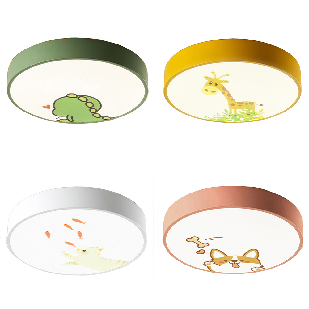 4 Colors Cartoon Led Ceiling Lamp Acrylic Lamp Shade for Kids Childs Modern Nordic Round Ceiling Lights Fixtures Living Room4 Colors Cartoon Led Ceiling Lamp Acrylic Lamp Shade for Kids Childs Modern Nordic Round Ceiling Lights Fixtures Living Room