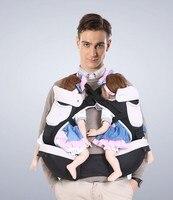 Twins bel dışkı askıları çok fonksiyonlu bebek bebek taşıyıcı tipi bel dışkı dışkı çocuk kemer önce Ikiz bebek sırt çantası