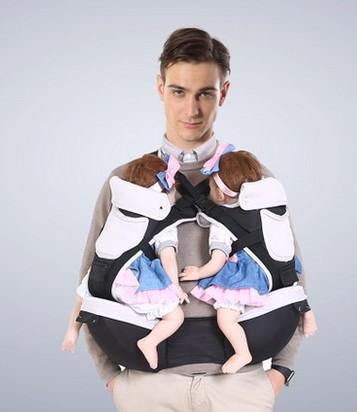 Online get cheap jumeaux porte b b alibaba group - Porte bebe double pour jumeaux ...