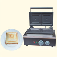 Jamielin 110v 220v Electric Sandwich Toaster Press Maker Machine Baker Grill Sandwich Machine Commercail Waffle Maker
