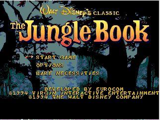 The Jungle Book 16 bit MD Game Card For Sega Mega Drive For Genesis