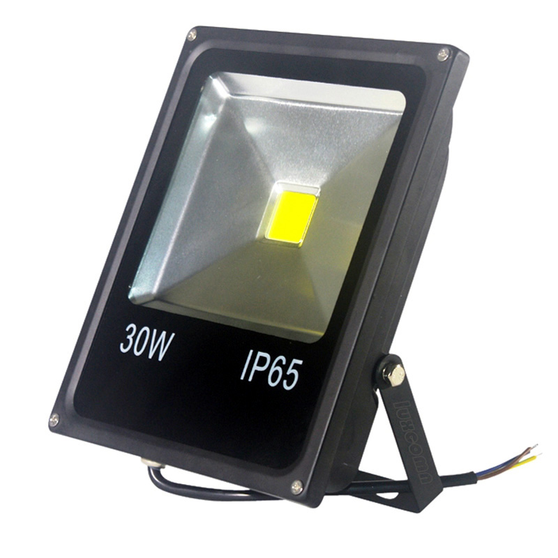 30w faro led floodlight refletor waterproof flood light for Fixture exterieur led