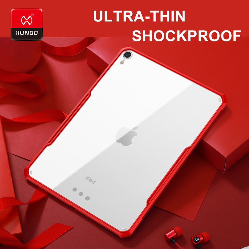 Original Luxury For new iPad Pro 11 9.7 10.5 inch 2017 2018 mini 1234 Air 2 tablet with airbags Shockproof Full Protection Cases