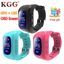 2019 New Q50 Wristwatch Smart Kid Safe GPS Smart Watch SOS Call Location Finder Locator Tracker Baby Anti Lost Monitor Pedometer(China)