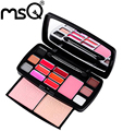 MSQ Professional Excellent Travel Suit Makeup Kits Women Cosmetic With Lipstick Blush For Fashion Beauty