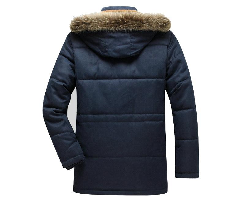 Thick Warm Parka Men New Hot Long Winter Jacket Men Hooded Military Cargo Mens Winter Coat Plus Size M-5XL 11