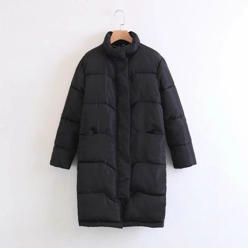 Plus size Down jackets 2019 Fashion Women Winter Coat Long Slim Thicken Warm Jacket Down Cotton Padded Jacket Outwear   Parkas