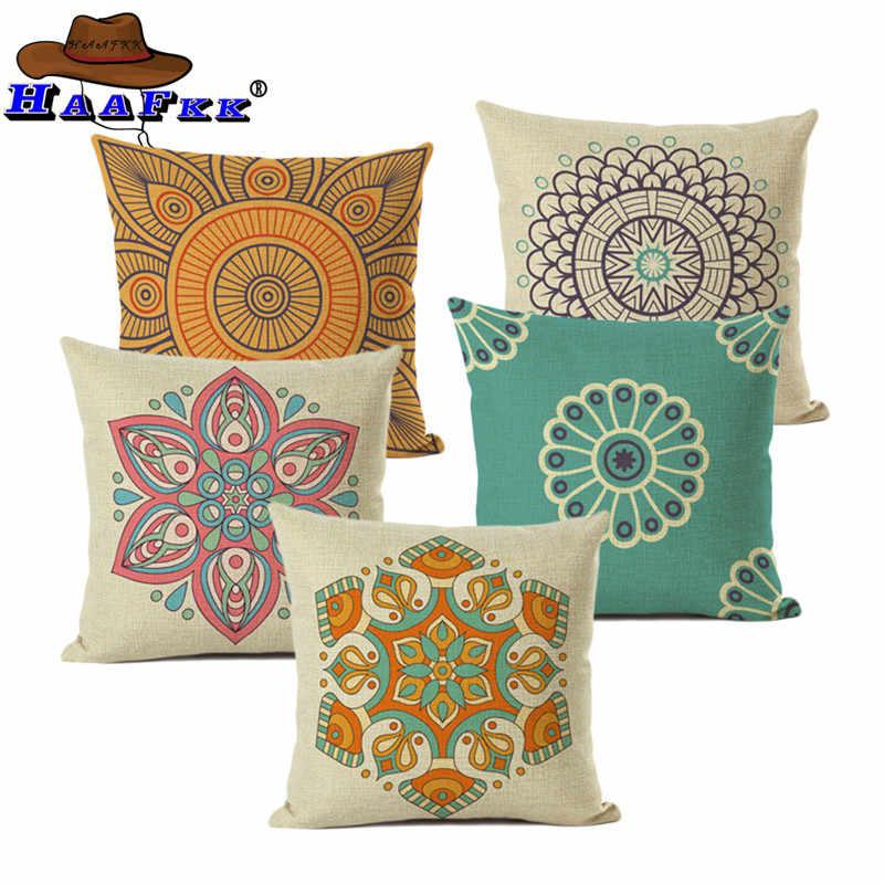 European Style Decorative Cushion Cover Meditation Pillow