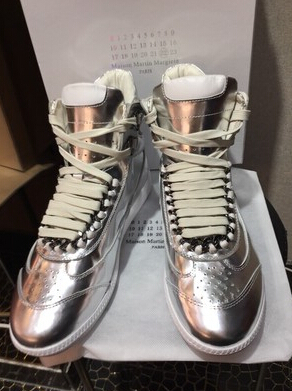 Maison Martin Margiela Sneakers 2015 newest fashion men mmm Silver gold  leisure Sneakers -in Fitness   Cross-training Shoes from Sports    Entertainment on ... 6d2c86e88bee