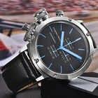 2019 PAGANI, relojes deportivos de diseño a la moda para hombre, reloj multifunción de buceo con cronógrafo de cuarzo, reloj de hombre, reloj de cuero - 5