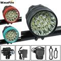 WasaFire 40000 lumen Fiets Front Light 16 * XML-T6 LED Fiets Licht Fietsen Accessoires Fiets koplamp Rijden voorlamp