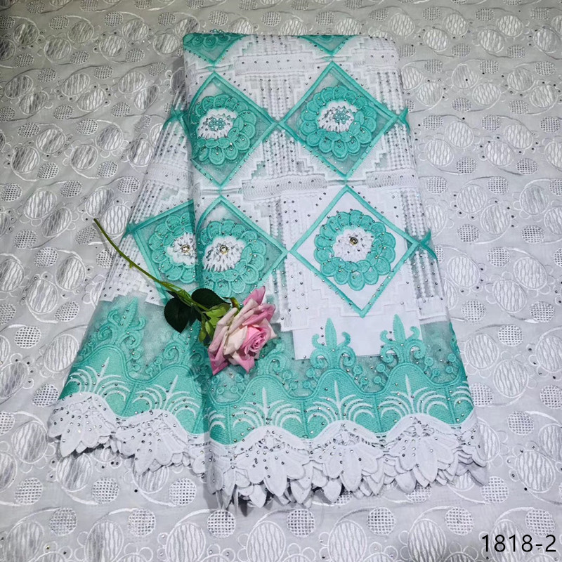 African Tulle Lace Fabric 2019 French High Quality Guipure Embroidery 1818