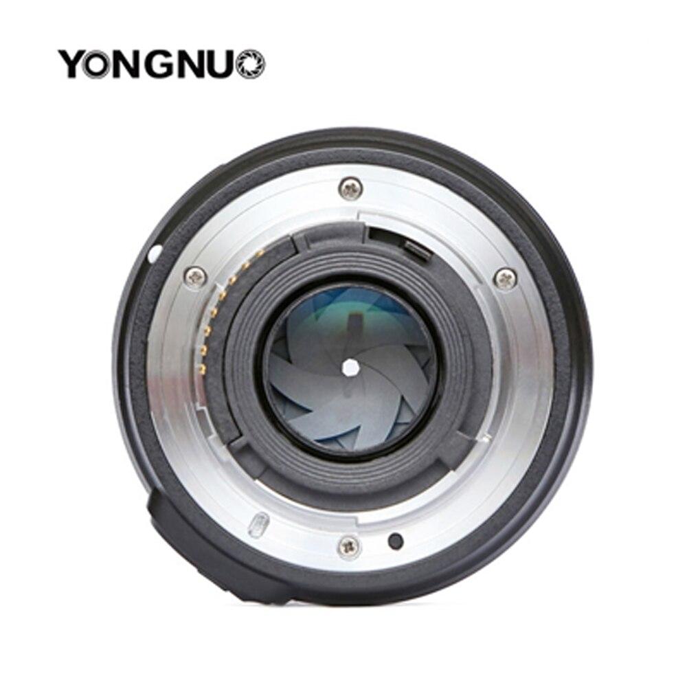 Objectif d'origine pour appareil photo YONGNUO 50mm f1.8 à grande ouverture mise au point automatique pour NIKON d5200 d3300 d5300 d90 d3100 d5100 s3300 d5000 - 5