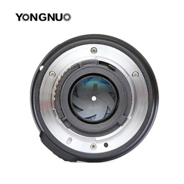 Original YONGNUO 50mm f1.8 Prime Camera Lens  Large Aperture Auto Focus for NIKON d5200 d3300 d5300 d90 d3100 d5100 s3300 d5000 8