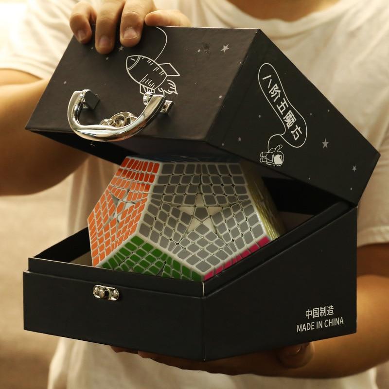 2018 Shengshou Tegaminx Puzzel Cube 12 Gezichten Professionele 8x8x8 PVC & Matte Stickers Cubo Puzzel Speed klassieke Educatief Speelgoed - 6