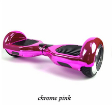 Hot sale Chrom color Two wheel balacing electric scooter body feeling twisting skateboard standing drift board hoverboard