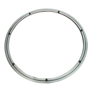 UPGRADE Anti Skid Soft Rubber Tips 100CM/40INCH OD Stainless Steel Lazy Susan Turntable Swivel Base