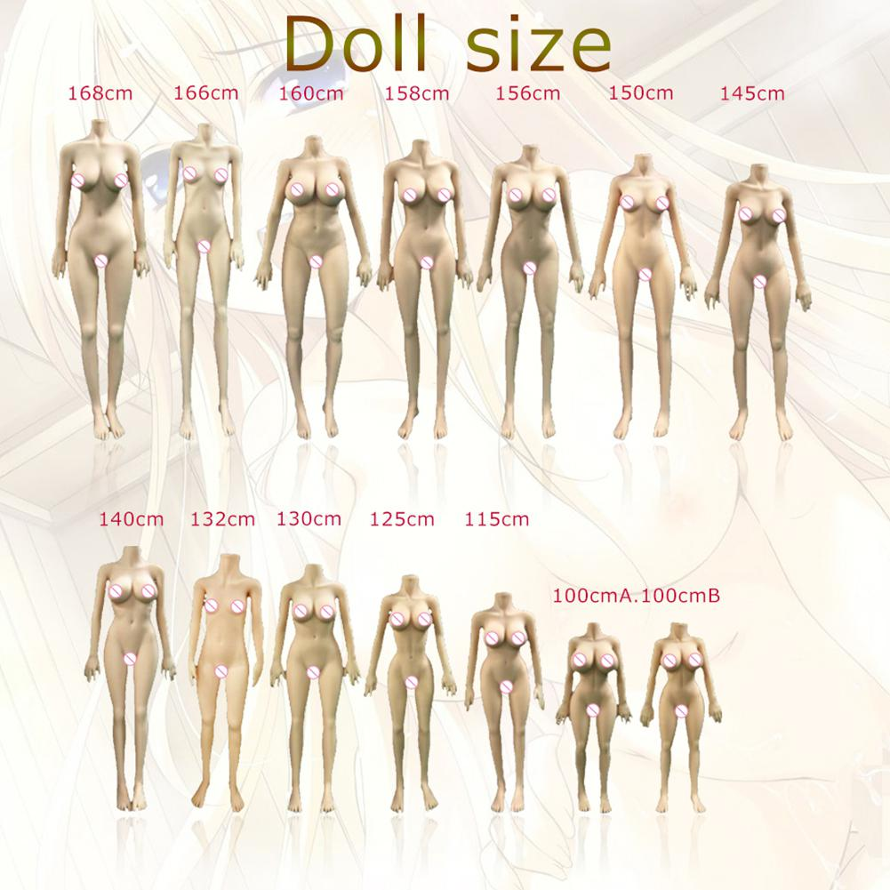 RABBITOW Kiara 150cm Men Lifelike Real Sex Doll Full Body Size TPE with Skeleton Love Doll Adult Doll 9