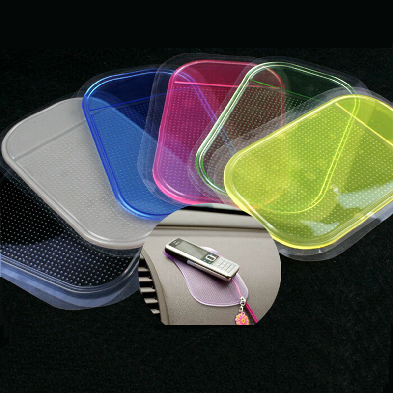 AntiSlip Anti slip Car Mat Pads mobile Holder For iPhone 4G 4S 5 5S 5C 6S Samsung Galaxy S3 S5 S4 for all the car 2pcs per lot