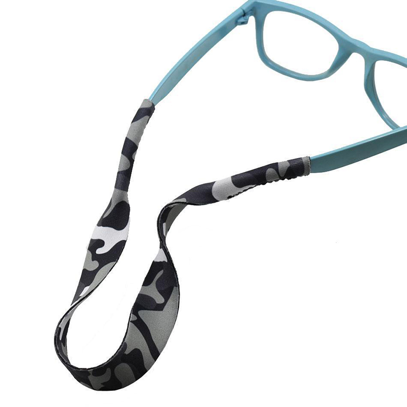Mayitr 2pcs Unisex Camouflage Camo Eyeglasses Holder Sports Strap Convenient Eye Glasses Strap Neck Cord Eyewear  Accessories