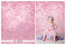 6X10ft New arrival vinyl pink flowers children Photography backdrops for photo studio S-1423