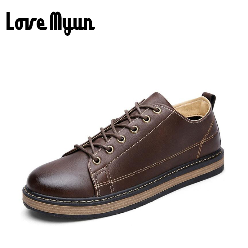 2017 brand new spring boys lace up leather shoes Student shoes young boys brogue shoes carved pu leather mens Flat shoes AC-22 brand new spring men fashion lace up leather retro brogue shoes casual flat breathable carved shoes bullock oxfords shoes wb 55