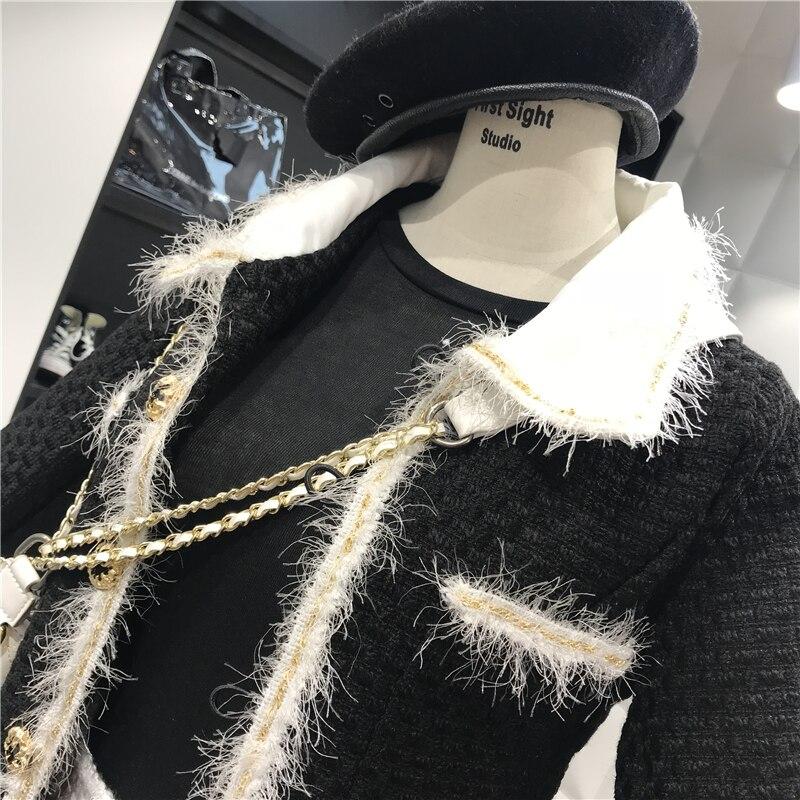 Turn Pour Laine Veste Femme down Casual D'hiver Manteaux Femmes Poitrine Style Collar Gland Outwears Unique Amolapha De Manteau Long qwAYHTn
