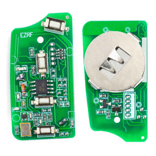 KEYECU EWS Modifié Flip Clé À Distance 4 Boutons 315 MHz/433 MHz PCF7935AA ID44 Puce pour BMW E38 E39 E46 M5 X3 X5 Z3 Z4 HU58/HU92