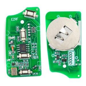 Image 5 - Keyecu ews 変更されたフリップリモートキー 4 ボタン 315 mhz/433 mhz PCF7935AA ID44 チップ bmw E38 E39 e46 M5 X3 X5 Z3 Z4 HU58 / HU92