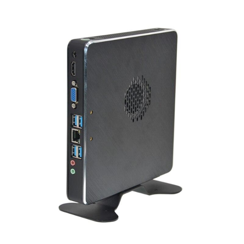 Kingdel Mini PC 7th Gen 7500U Dual Core Intel HD Graphics 520 HTPC With HDMI VGA 4*USB3.0 1*RJ45 16G RAM 512G SSD Windows 10