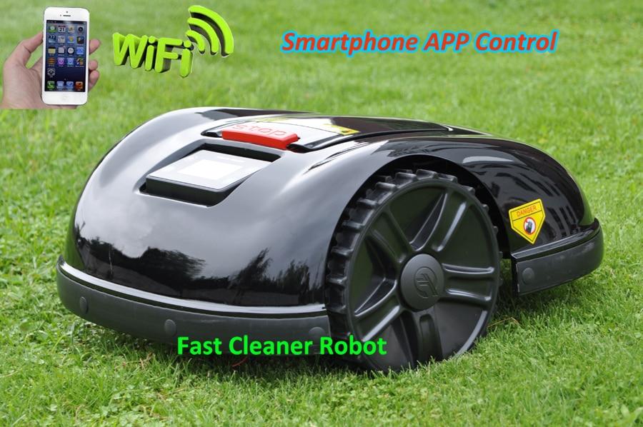 Newest Robotic Mower E1600 Wifi App Wireless Control