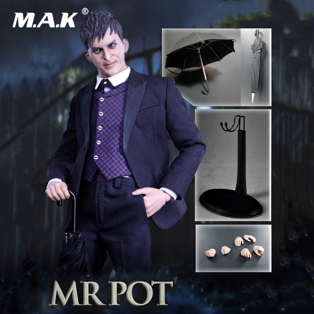 Collectible Full Set Action Figure TE019 1/6 Scale New MR POT Figure The Laughter (Gotham) Set For Fans Holiday Gift