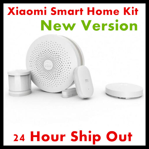 2017 New Version Original Xiaomi Smart Home Kit Gateway Door Window Sensor Human Body Sensor Wireless Switch Smart Devices Sets new gift box original xiaomi smart home kit gateway door window sensor human body sensor wireless switch zigbee socket sets