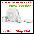2017 New Version Original Xiaomi Smart Home Kit Gateway Door Window Sensor Human Body Sensor Wireless Switch Smart Devices Sets