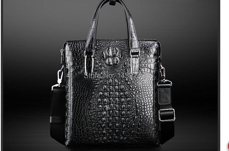 2018 fashion men s genuine real 100% crocodile skin briefcase laptop bag crocodile skin business men bag blue color 100% genuine crocodile leather skin briefcase men laptop bag luxury alligator leather skin men business bag