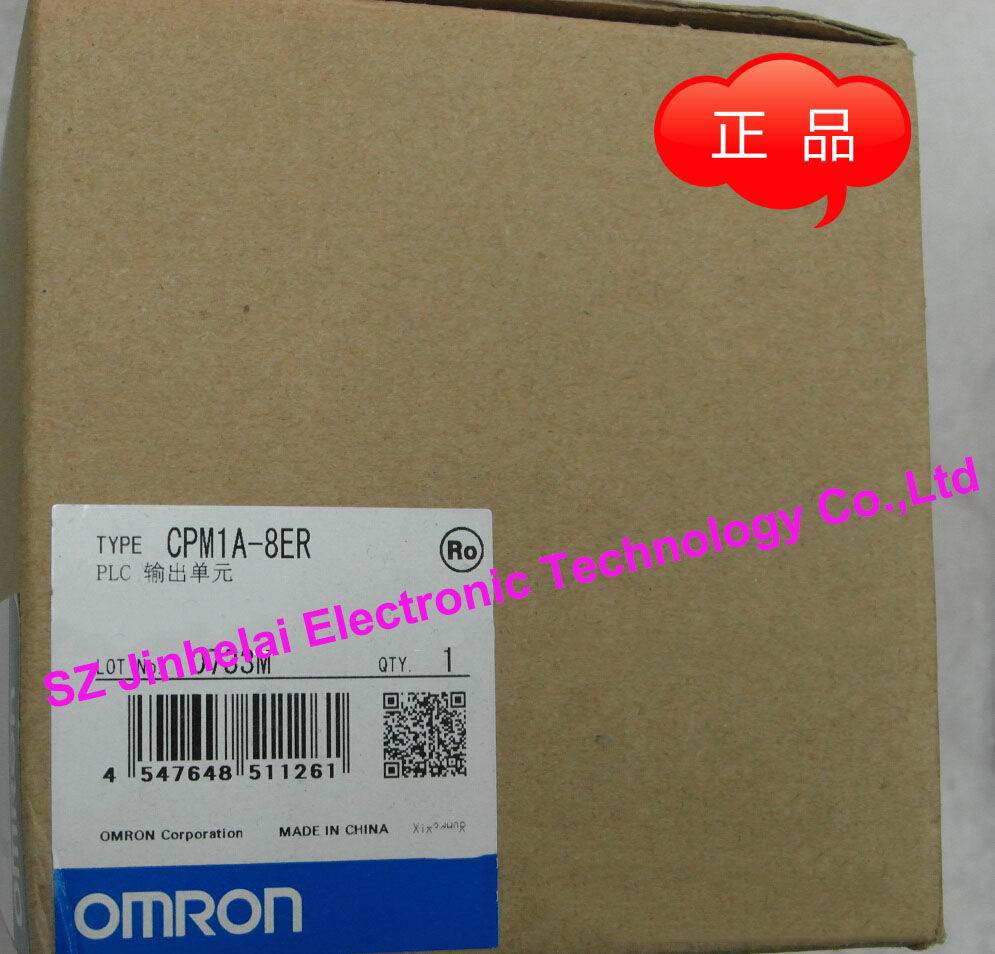 New and original  CPM1A-8ER  OMRON  PLC Relay output  Extension module new and original e3x da11 s omron optical fiber amplifier photoelectric switch 12 24vdc