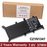 7 6V 38WH Original Genuine New Laptop Battery C21N1347 For ASUS X555 X555LA X555LD X555LN 2ICP4