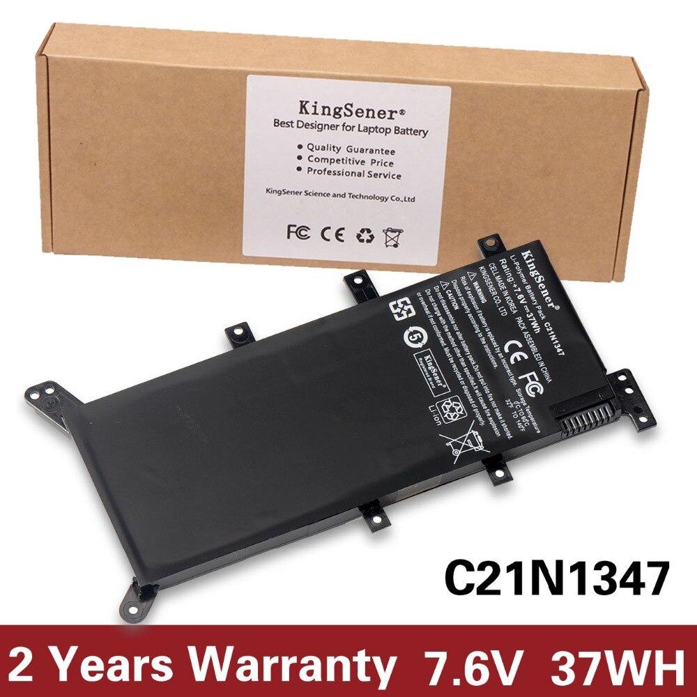 7.5V 37WH KingSener C21N1347 New Laptop Battery For ASUS X554L X555 X555L X555LA X555LD X555LN X555MA 2ICP4/63/134 C21N1347 цена 2017