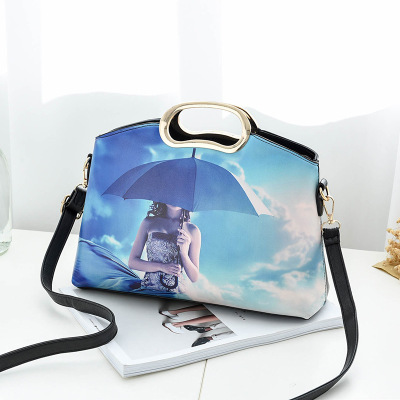 The new tide female bag fashion female bag worn one shoulder bag in Shoulder Bags from Luggage Bags