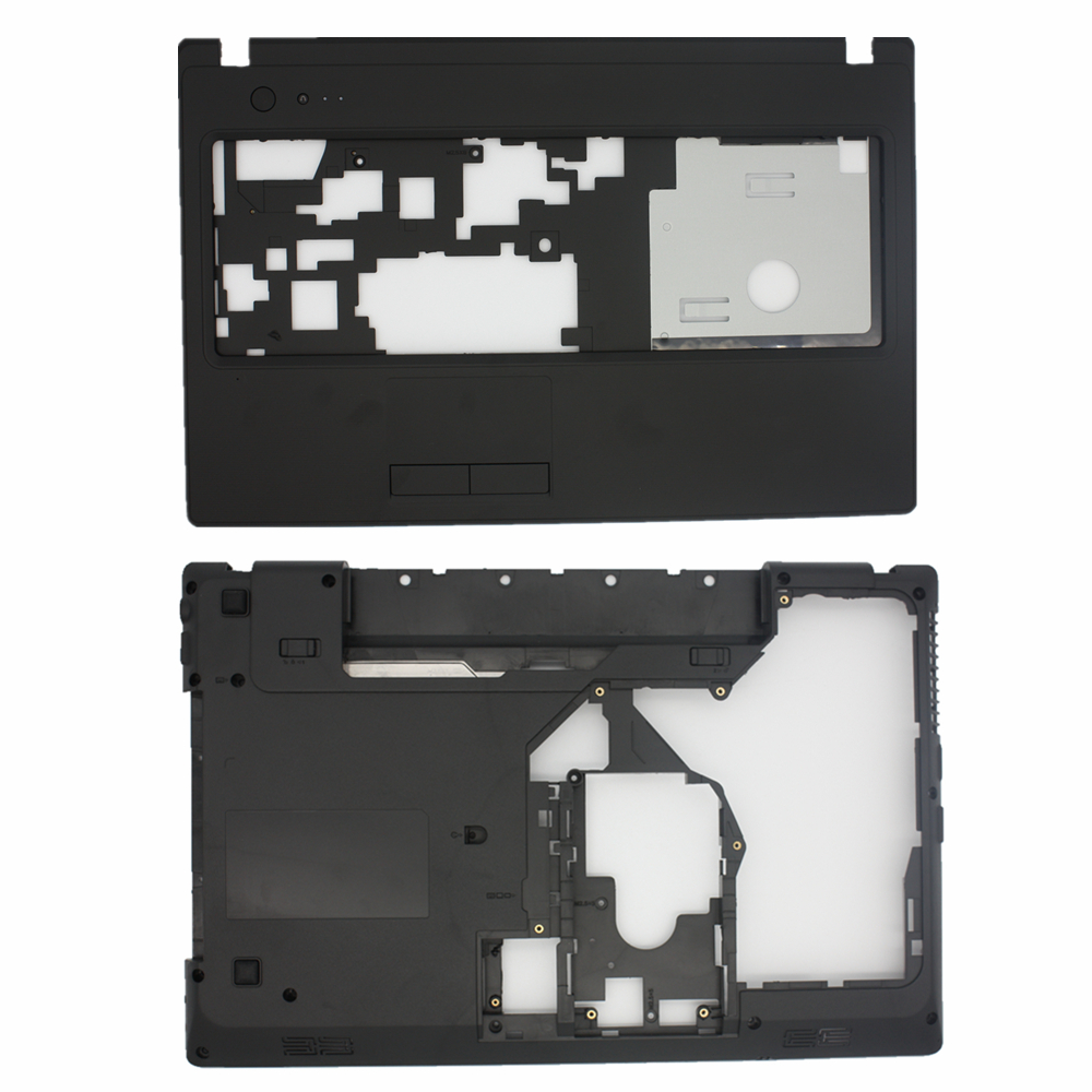 New Base  Case Cover For Lenovo G570 G575 LCD Back Cover Laptop Bottom Base Case Cover Palmrest Touchpad