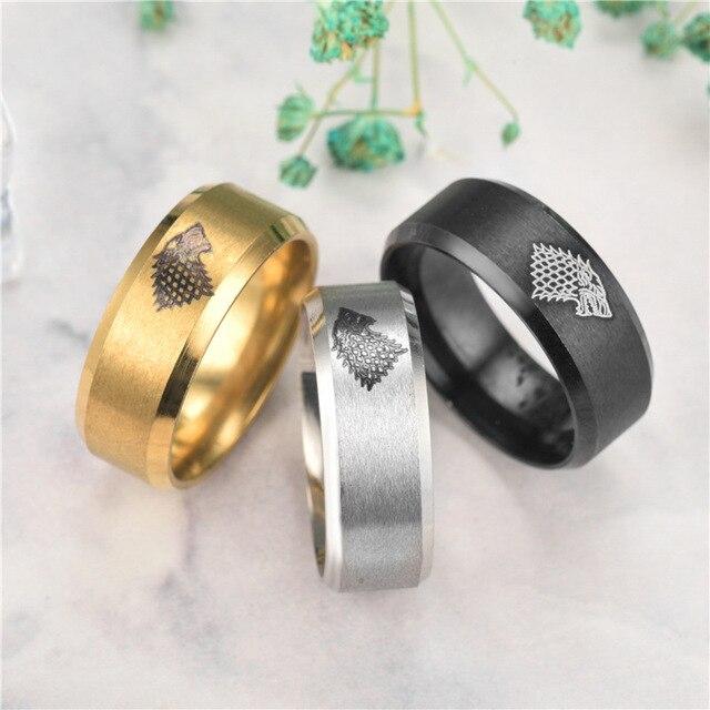Direwolf Rings  4