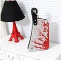 2016 Brand New Fashion Women Handbags Comics Creative Cartoon Hand Bag Kitchen Knife Women Wristlets European Style SL0550