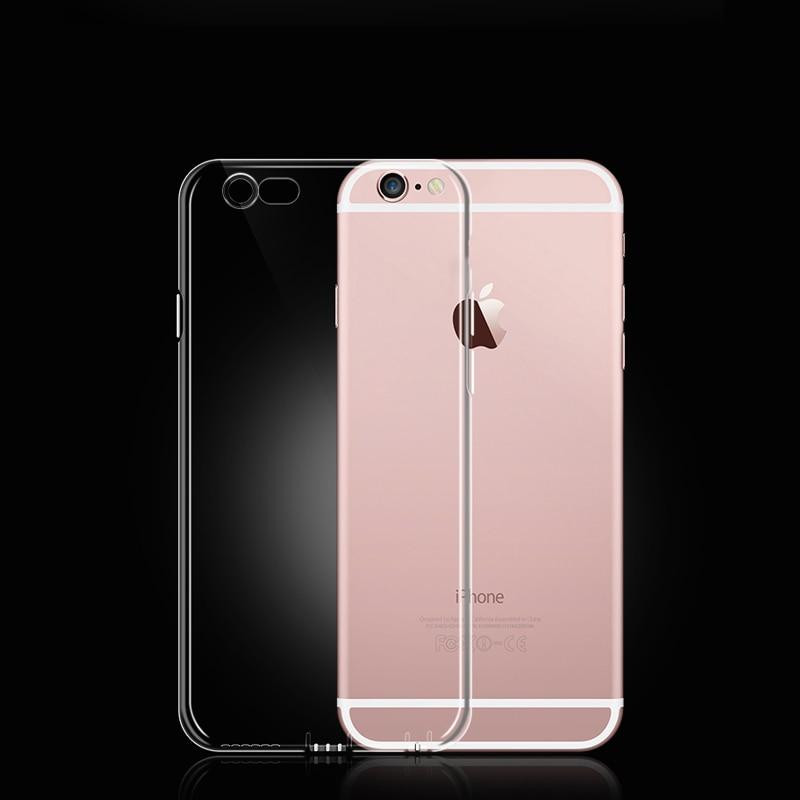 Untuk iPhone 5 5 S 6 6 S 6 DITAMBAH 7 S Doolike Transparan Ponsel - Aksesori dan suku cadang ponsel - Foto 5
